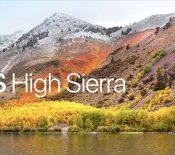 WWDC 2017 : Apple remplace Sierra par… High Sierra, la VR à l'honneur