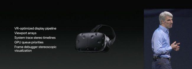 MacOS High Sierra Réalité virtuelle