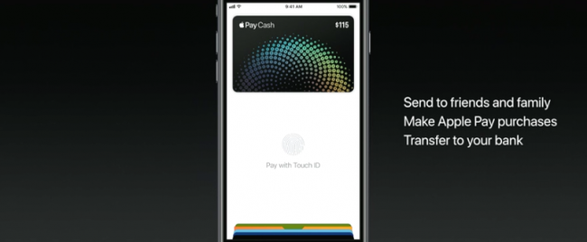 apple pay consumer to consumer