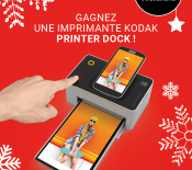 Jeu-concours : gagnez 3 Kodak Photo Printer Dock (iOS ou Android)