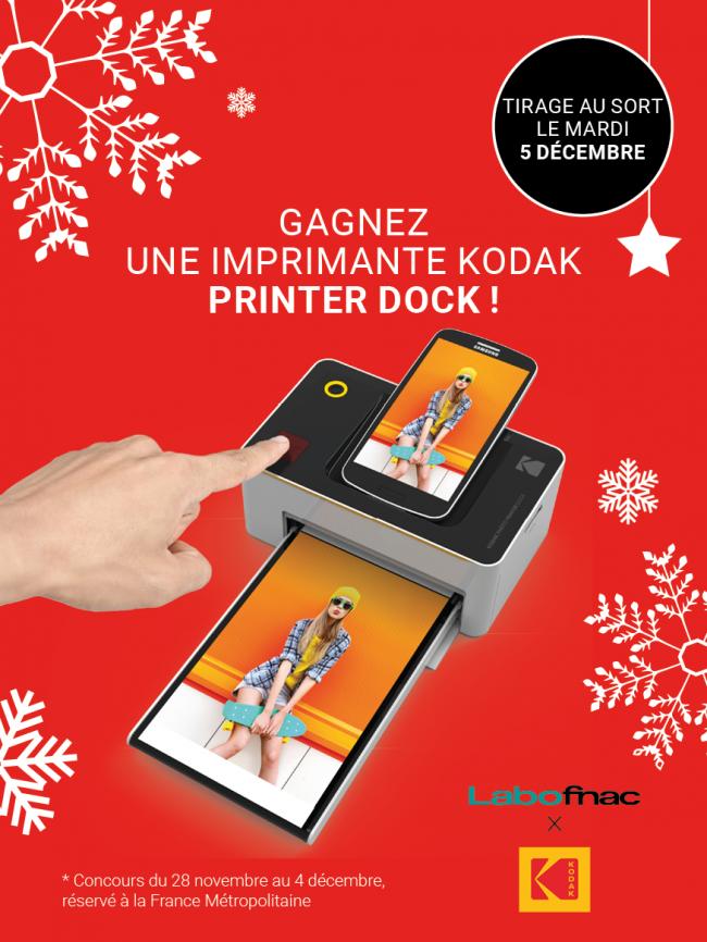 Concours de Noël en partenariat avec Kodak