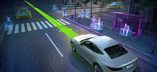 Voiture autonome Nvidia Volvo