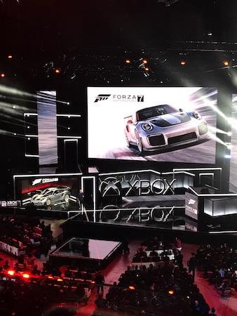 E3 2017 : Forza Motorsport 7 ©Fanny Bouton