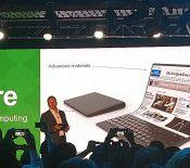 Lenovo dévoile un concept de PC portable avec écran flexible