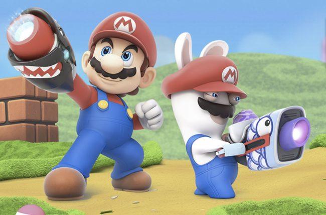 Mario + Lapins Crétins