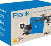 Bon plan – Une GoPro Hero+ LCD et un drone R'Bird Black Master pour 249,99 €