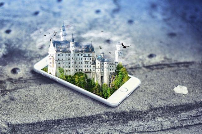 smartphone realite augmentee