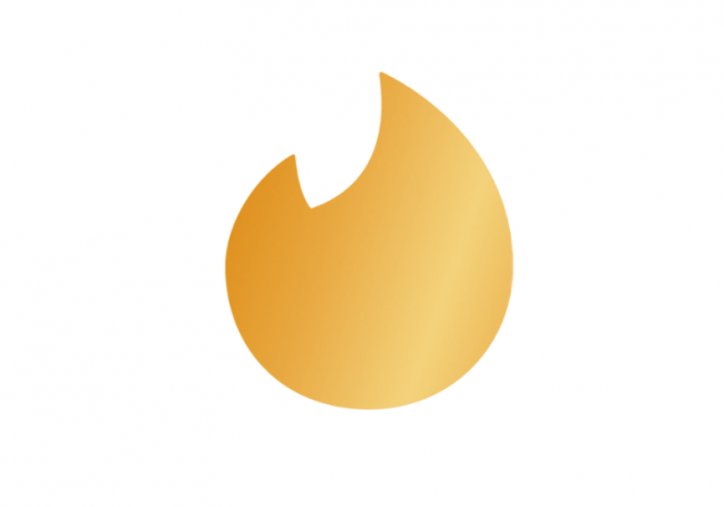 tinder gold logo