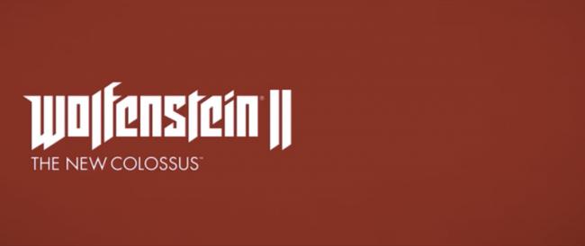 Wolfensein II : The New Colossus