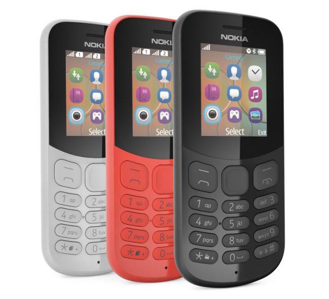 Le Nokia 130 en version 2017