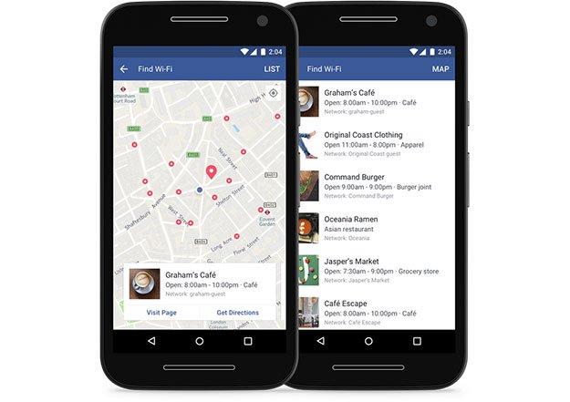 facebook wi-fi gratuit