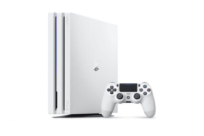 PS4 Pro Blanc Glacier