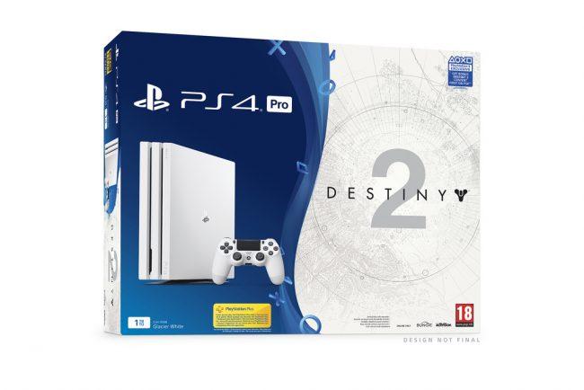 Pack PS4 Pro avec Destiny 2