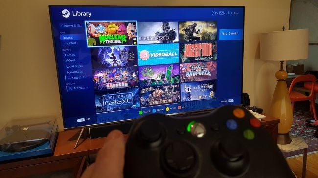 Steam Link sur une Smart TV Samsung