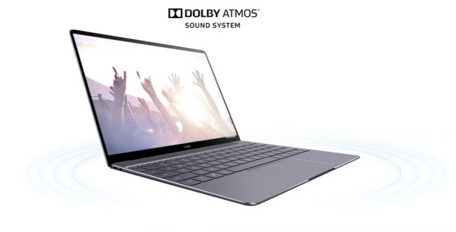 Huawei Matebook X Dolby atmos
