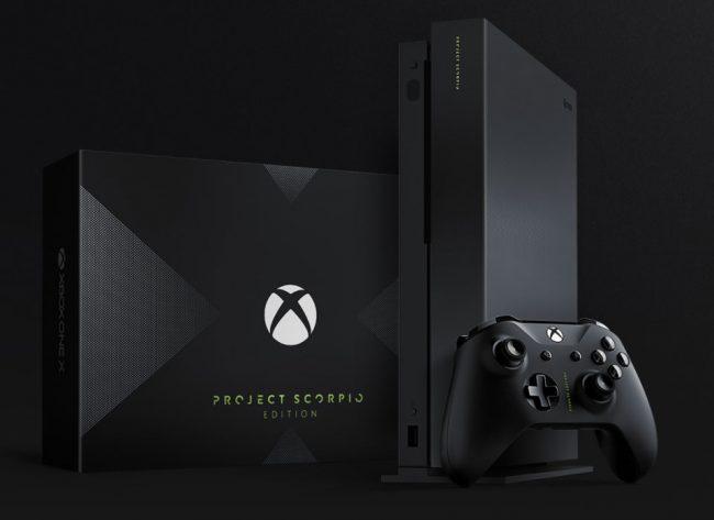 Microsoft Xbox One X Project Scorpio Edition
