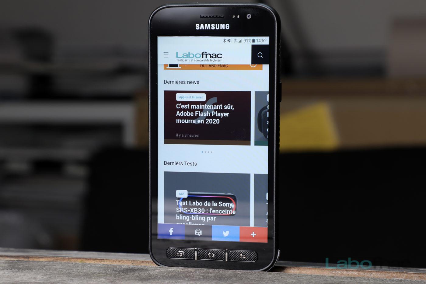 robustes smartphone test