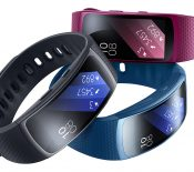 Samsung Gear Fit2 Pro : le bracelet est dans les starting-blocks