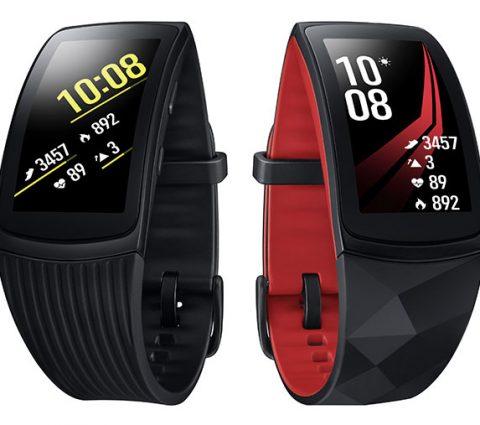 Soldes été 2019 – Le bracelet connecté Samsung Gear Fit2 Pro à 139,99 euros