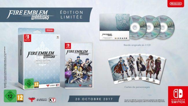 Fire Emblem Warriors Édition Limitée pour Nintendo Switch