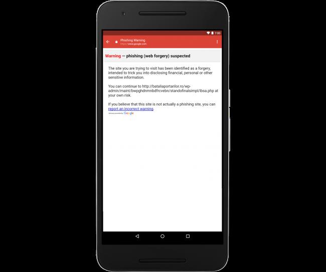 Phishing Gmail iOS