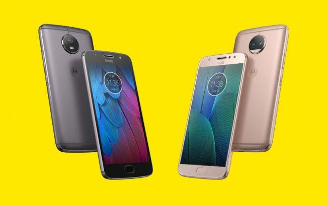 Motorola Moto G5S et Moto G5S Plus