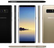 Samsung Galaxy Note 8 : après le visuel, les caractéristiques complètes