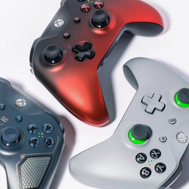 Nouvelles manettes Xbox One