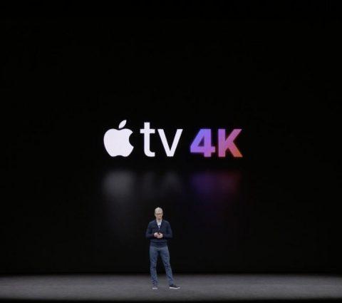 De la 4K et du HDR pour la nouvelle Apple TV 4K