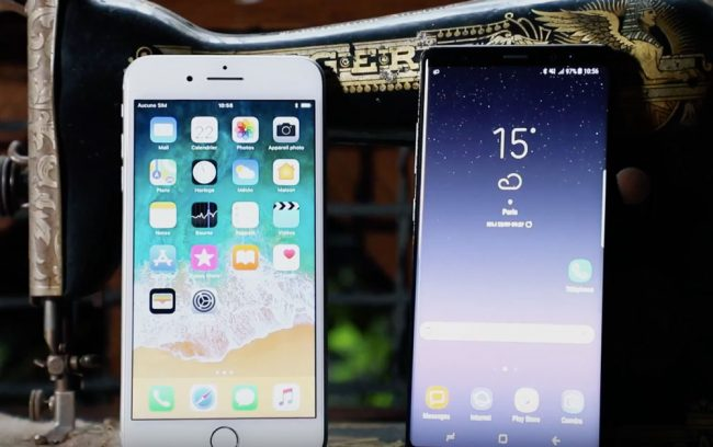 Samsung Galaxy Note 8 vs iPhone 8 Plus