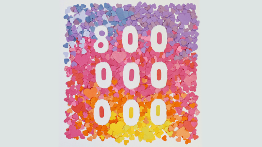 Instagram 800 million