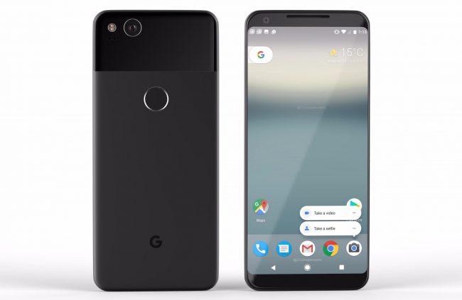 Concept du Google Pixel 2 XL