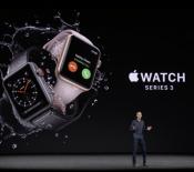L'Apple Watch Series 3 est officielle, et totalement autonome avec la 4G