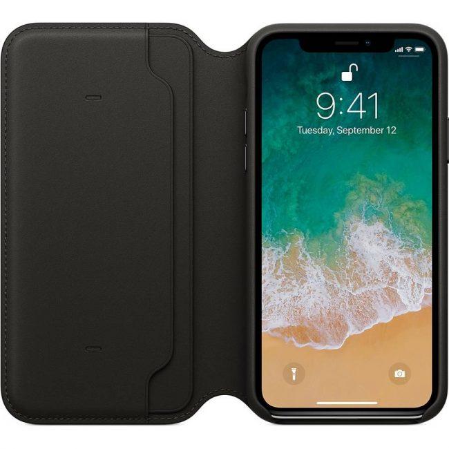 Cover Folio iPhone X