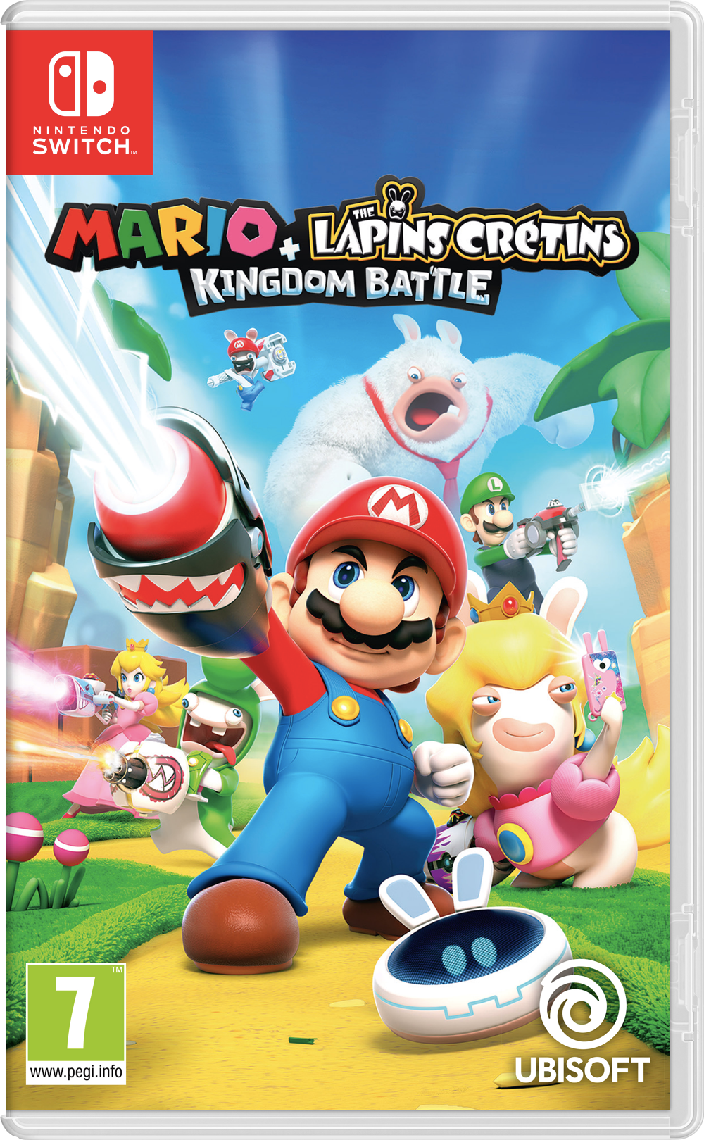 Mario + Les Lapins Crétins Kingdom Battle