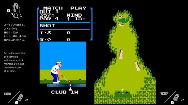 Golf sur Nintendo Switch