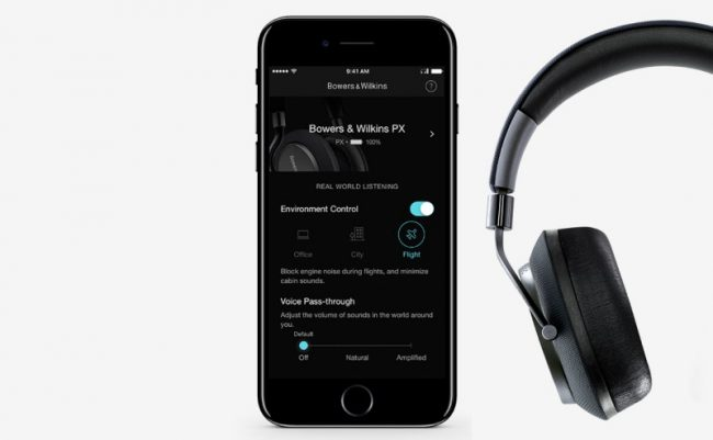 Application Bowers & Wilkins PX
