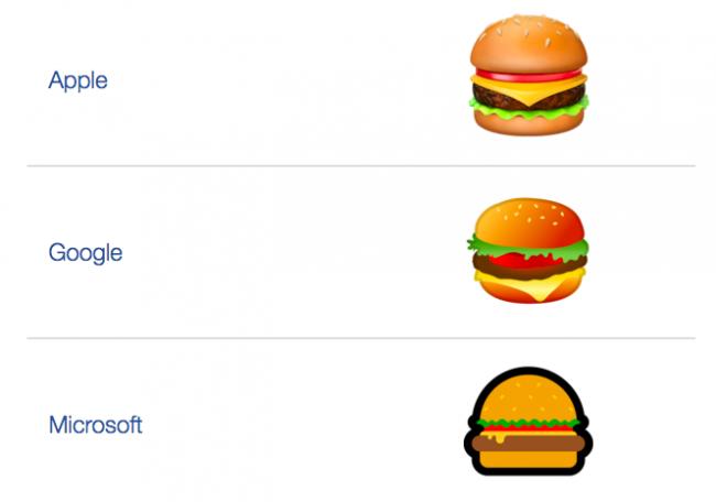 emojis hamburger