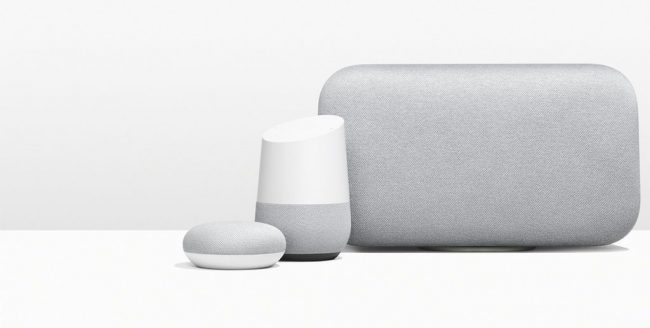Gamme Google Home