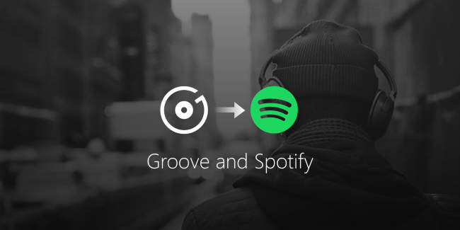 Groove Music vers Spotify