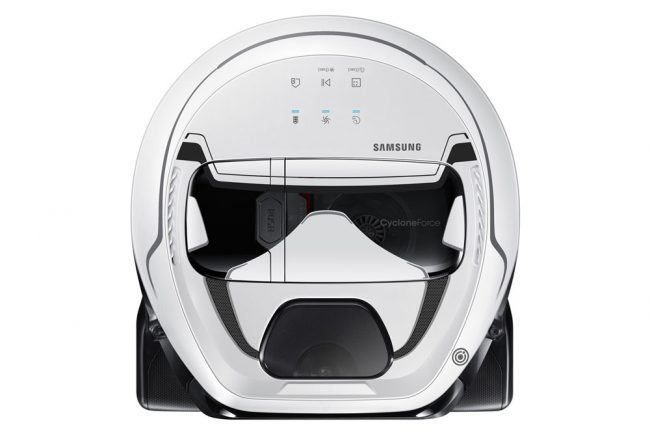 Samsung aspirateur robot Star Wars