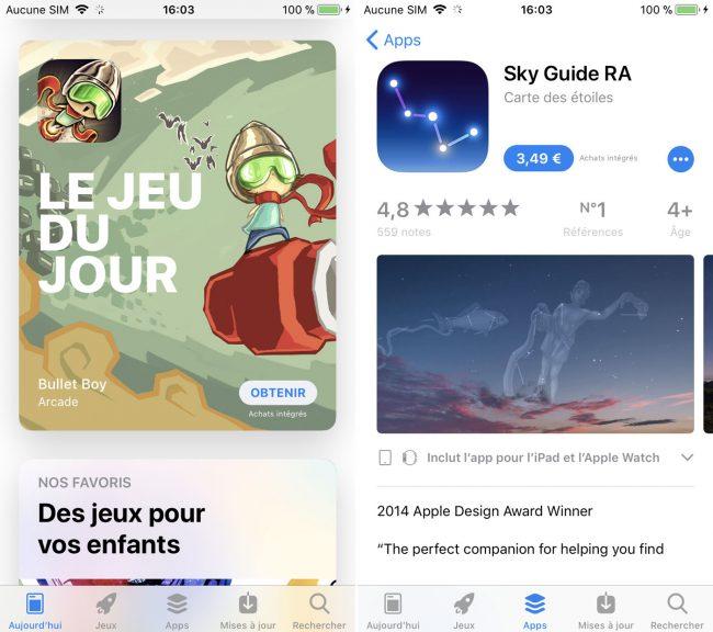 iPhone 8 App Store
