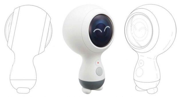 Une nouvelle version de la Samsung Gear 360 (2018) serait dans les tuyaux