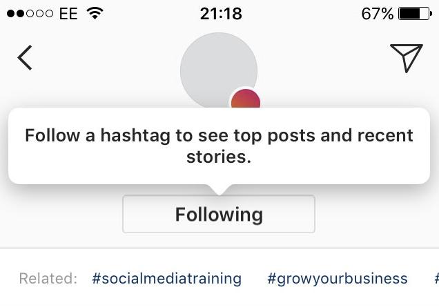 abonnements hashtags