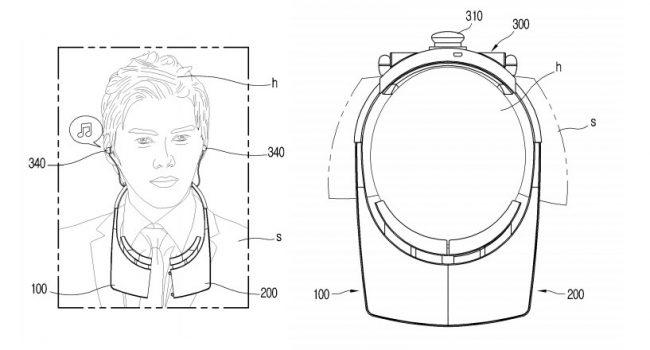 Brevet LG casque VR