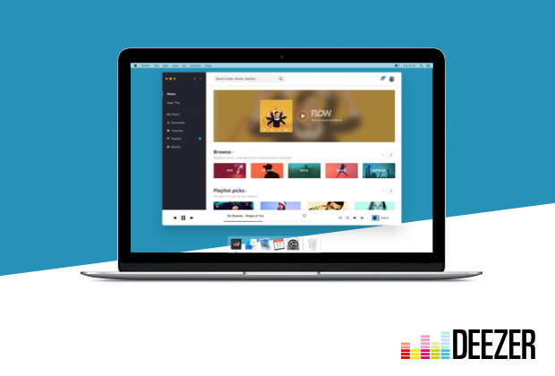 App desktop Deezer