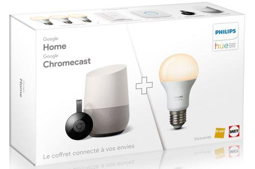 Pack Google Home, Chromecast & Philips Hue