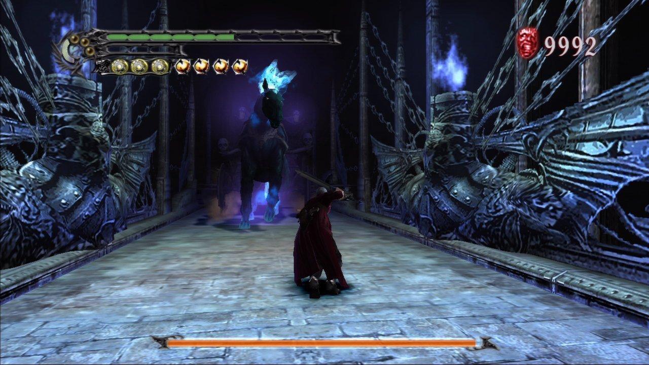 Screenshot de la version Xbox 360 de Devil May Cry HD Collection.