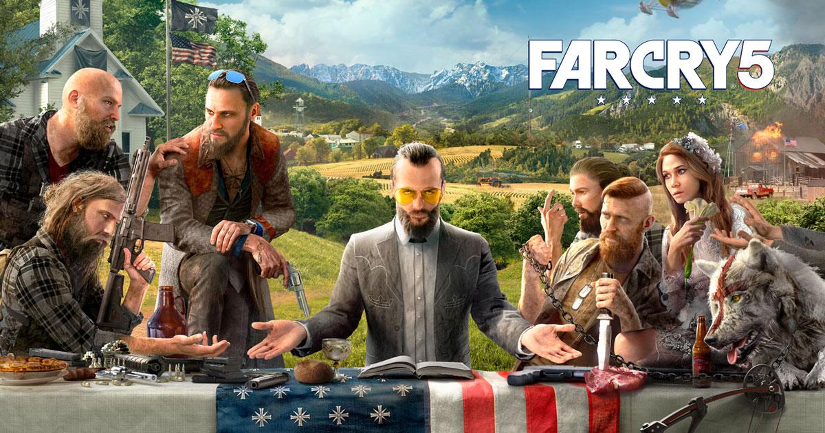 Far Cry 5 The Crew 2 Ubisoft