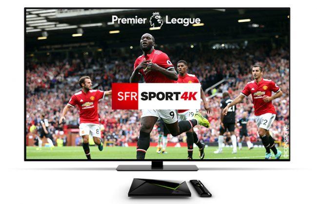 SFR Sport 4K Nvidia Shield TV